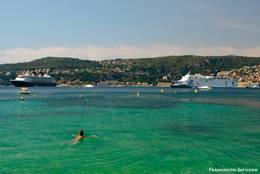 An der Côte d'Azur bei Saint-Jean-Cap-Ferrat
