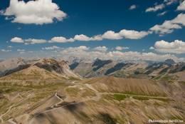 Die französischen Alpen im Nationalpark Mercantour