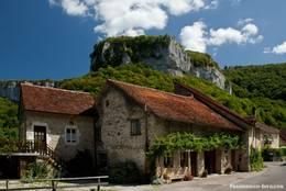 In den Bergen des französischen Jura bei Les Planches-près-Arbois